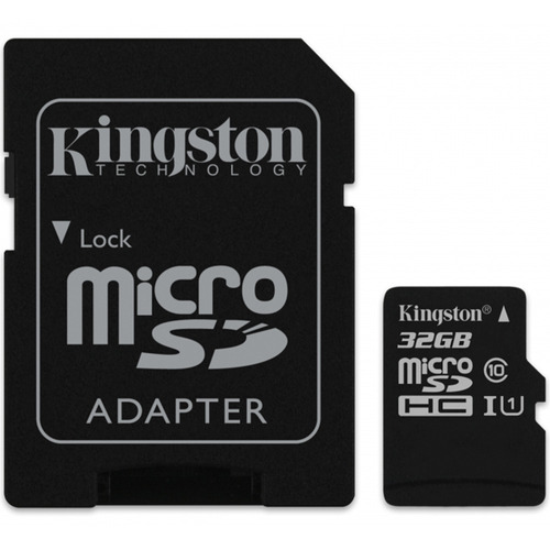 memoria micro sd hc 32gb kingston cl 10 c/a sdc10g2/32gb