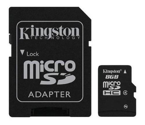 memoria micro sd hc 8gb clase 4 kingston garantia sellada celulares tablet mayoreo nueva original