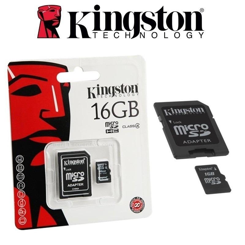 tarjeta de memoria 16gb para celular