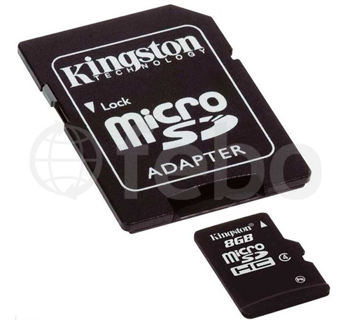 memoria micro sd kingston 8gb celular camara tablet febo