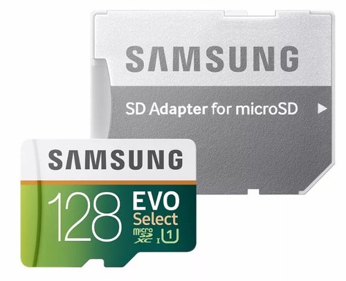 memoria micro sd samsung 128gb evo select class 10 80mb/s