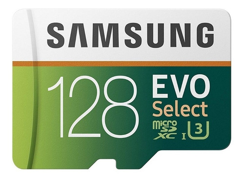 memoria micro sd samsung 128gb evo select samsung, tablet 4k