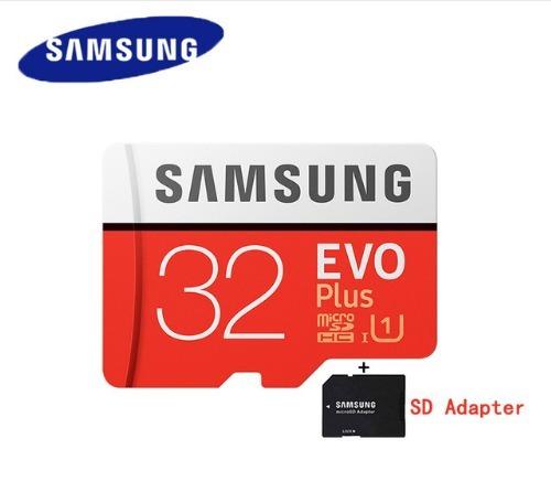 memoria micro sd samsung evo 32 gb clase 10  95mb/s