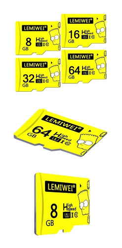 memoria micro sd tf lemiwei+adaptador sd alta calidad 32gb.