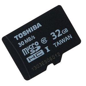 memoria micro sd toshiba 32gb c10 original nueva sellada