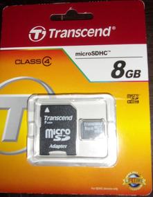 Transcend microSDHC Clase 8GB Tarjeta de memoria-nuevo 4