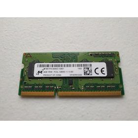Memoria Micron 1rx8 Pc3l-12800s-11-13-b4 Mt8ktf51264hz 4gb