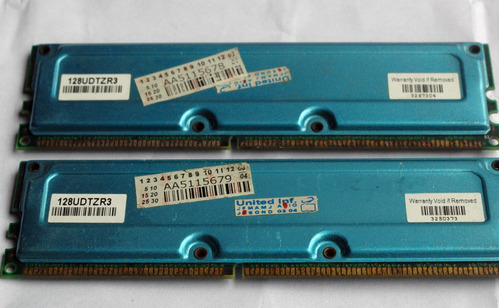 memoria micron 256mb (128mb x2) pc2100-ddr-16m x 64