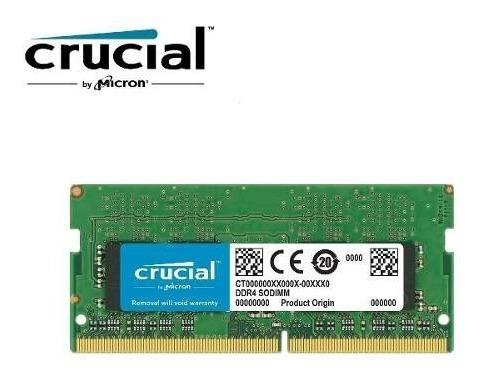 memoria micron crucial notebook 4gb ddr4