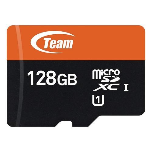 memoria microsd 128gb team group uhs-i clase 10 sellada