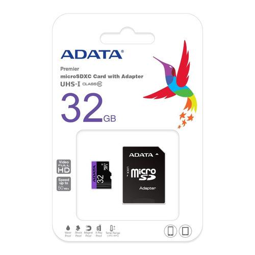 memoria microsd hc 32gb clase 10 adata uhs-i envio gratis