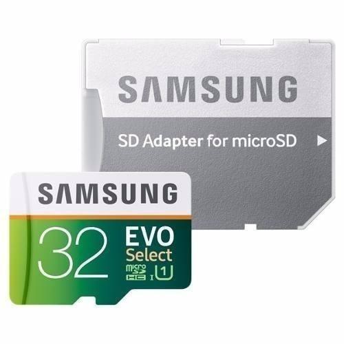 memoria microsd samsung evo select 32gb 95mb/s uhs + rapida