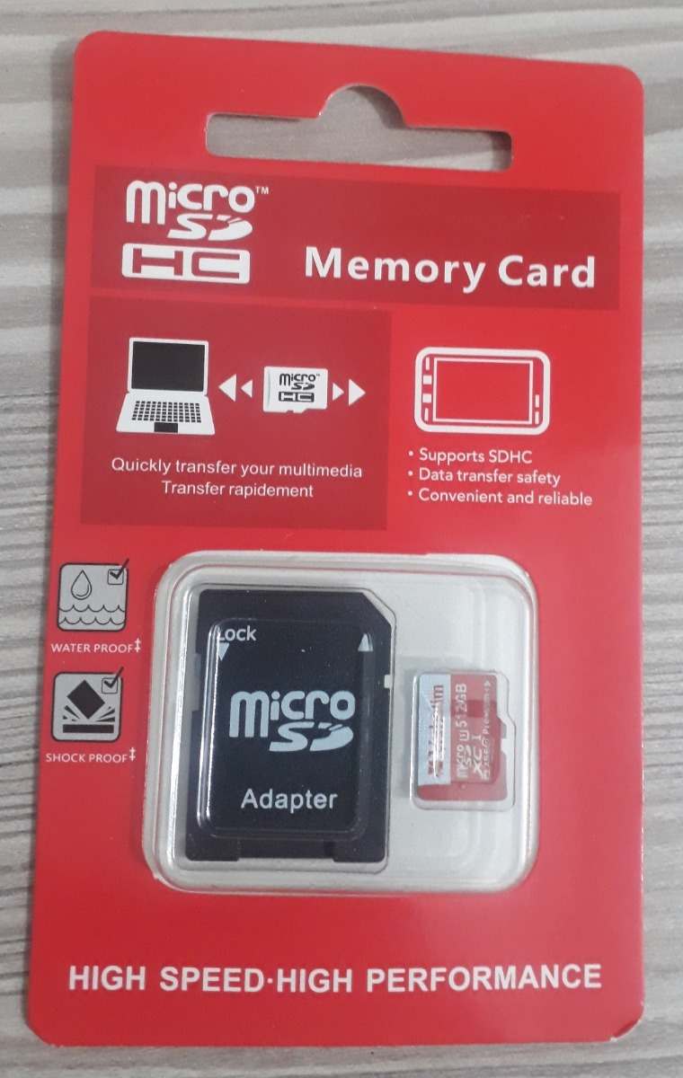 Memoria Microsd Verbatim 512gb Con Adaptadores