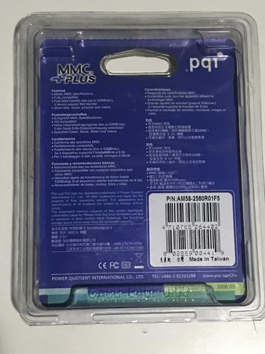 memoria mmc 256 mb sellada de fabrica