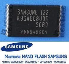 memoria nand samsung para televisores series und5500