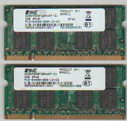 memoria note 2gb ddr2