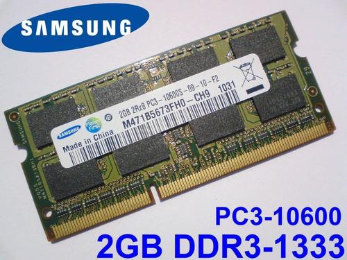 memoria notebook 1 x 2gb samsung np-rv411-ad1br m6.31