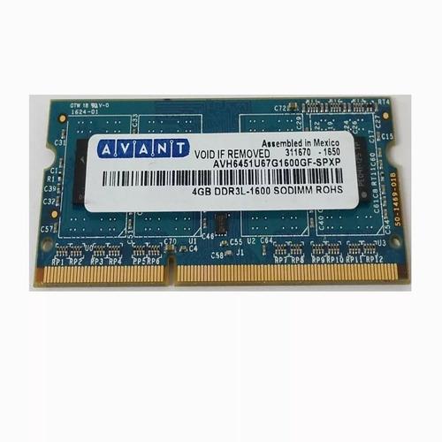 memória notebook 4gb ddr3 1600mhz-12800 pc3l  nova oferta