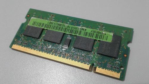 memória notebook 512mb ddr2