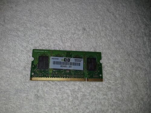 memória notebook ddr2 1gb 2rx16 smart pc2-6400s-666 hp compa