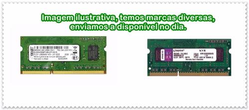 memória notebook ddr3 2gb - seminovo - marcas diversas.