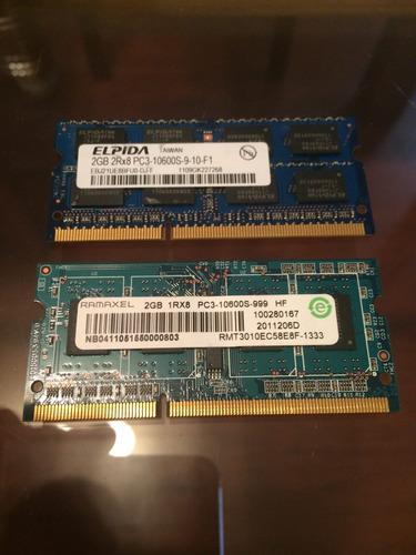memoria notebook sodimm 2gb ddr3 10600
