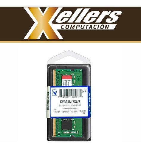memoria notebook sodimm 8gb kingston ddr4 2400 mhz xellers