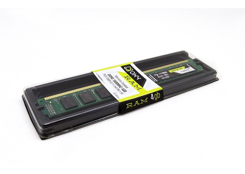 memória oxy ddr3 4gb 1333 mhz pc3 pc intel / amd