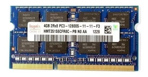 memoria p/ notebook 4gb ddr3 1600mhz pc3-12800s hynix oferta