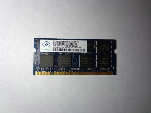 memoria para laptop 1 gb ddr2