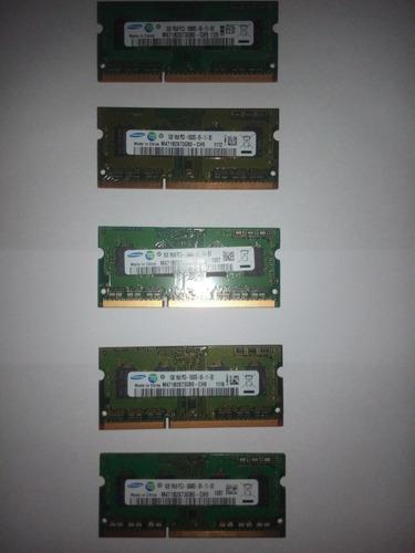 memoria para laptop ddr3 1gb.