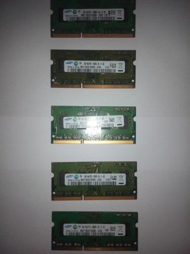 memoria para laptop ddr3 1gb. pc3-10600s samsung