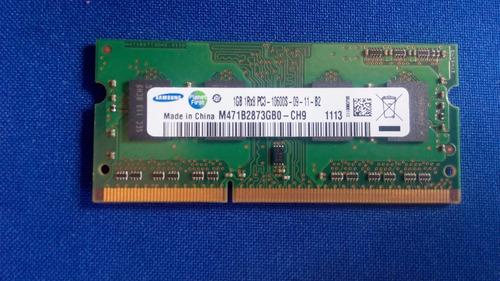 memoria para laptop laptop ddr3 1gb