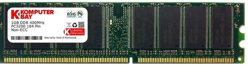 memoria para pc ddr 1 gb. 400 mhz baja densidad