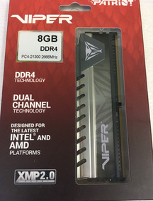 Memoria Patriot Viper Elite Ddr4 8gb 2666 Mhz
