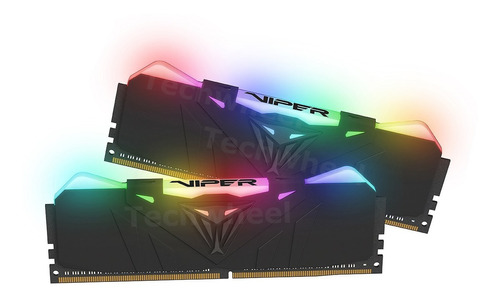 memoria patriot viper rgb 16gb (2x8) ddr4 3000mhz gamer 12x