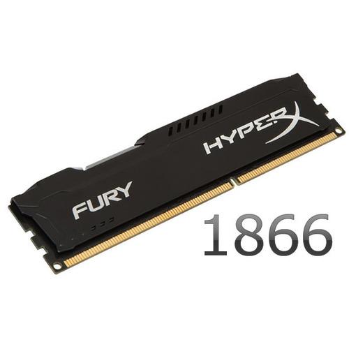 memoria pc ddr3 4gb 1866mhz kingston hyperx fury gamer 1866 mhz