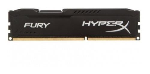 memoria pc ddr3 8gb 1600mhz kingston hyperx fury gamer black
