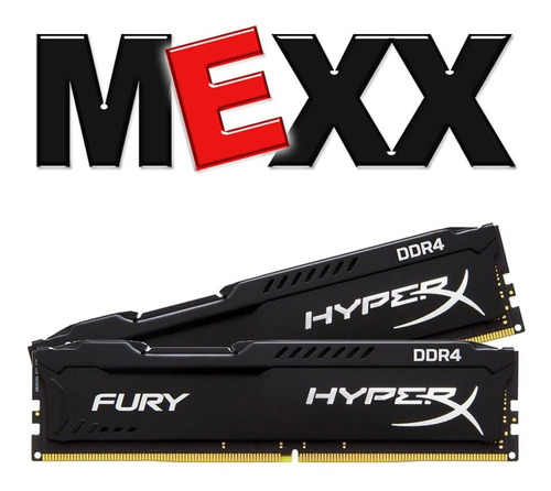 memoria pc ddr4 kingston hyperx fury 8gb 2400mhz mexx 3