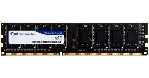 memoria pc dimm 8gb ddr3 1600mhz team gamer envio gratis