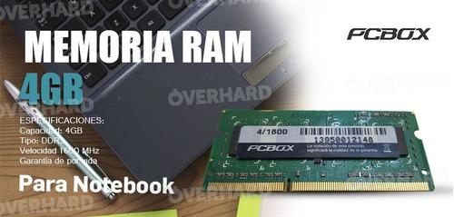 memoria pcbox 4gb ddr4 2400mhz  2400oem pce