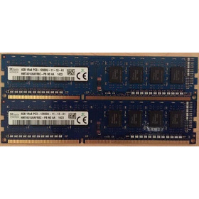 Memoria Pcs 4gb Pc3-12800u 1600ghz Garantía Tienda Factura