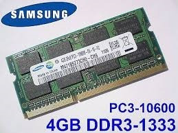 memoria portatil laptop 4gb sodimm pc3l-12800 1600 mhz nueva