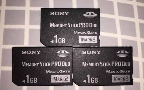 memoria produo 1gb sony original