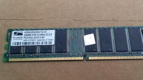 memoria promos x 2 ddr 333,  256 mb