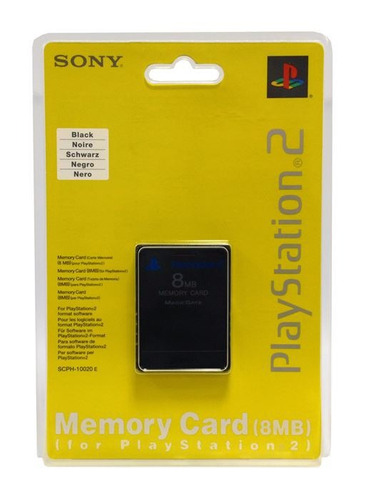 memoria ps2 8mb cosnsola video play station 2