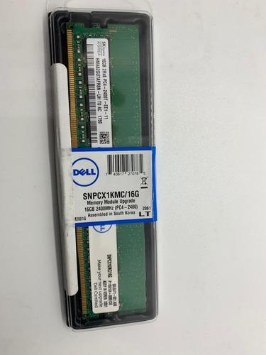 memoria ram 16 gb ddr4  con puro ecc  2400 mhz snpcx1kmc/16g