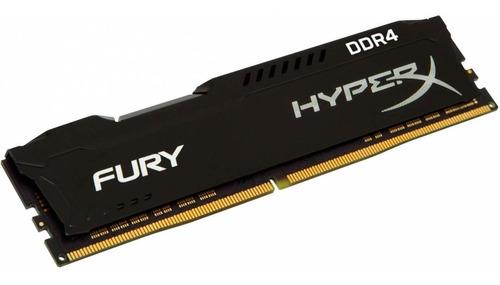 memoria ram 16gb ddr4 2400mh hyperx fury black hx424c15fb/16