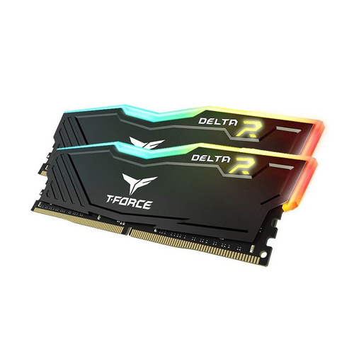 memoria ram 16gb t force delta rgb led ddr4 team 3000mhz