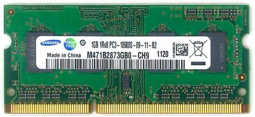 memoria ram 1gb ddr3 laptop